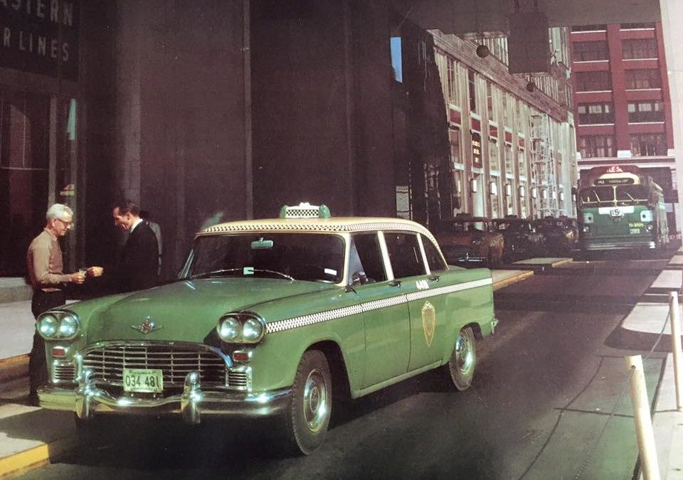 It's Not Easy Being Green - Internet Checker Taxicab Archive