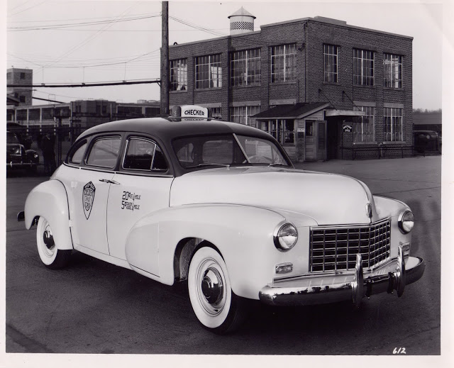 The 1947 Checker Model A2