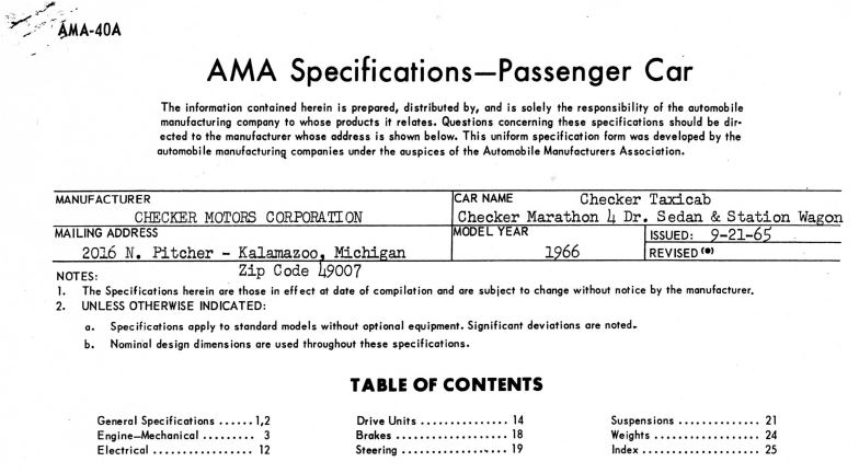 Checker AMA Specification Now In The Archive