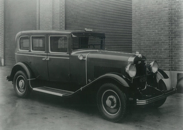 The 1928 Checker Model K, Checkers first ground up purpose built taxicab