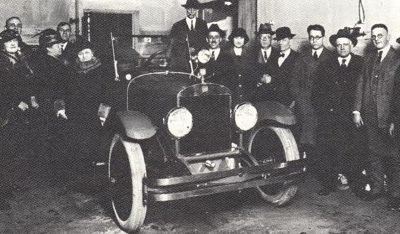 The 1922 Commonwealth Goodspeed Show Car