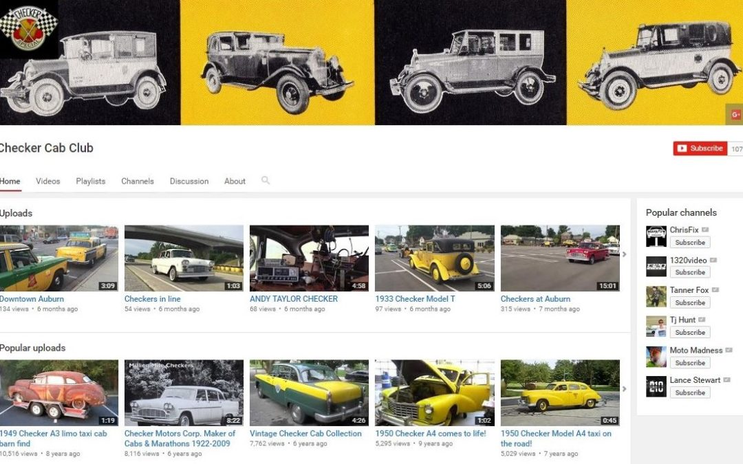 The Internet Checker Taxicab Archive YouTube Channel?