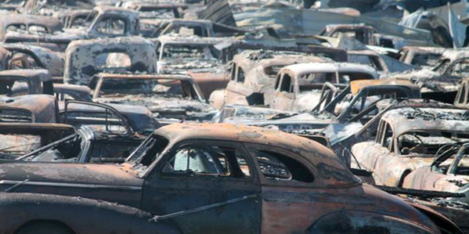 Over 150 Classic Cars And 1 Checker Destroyed In A Fire