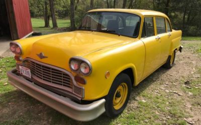 1981 Checker Cab $7000.00