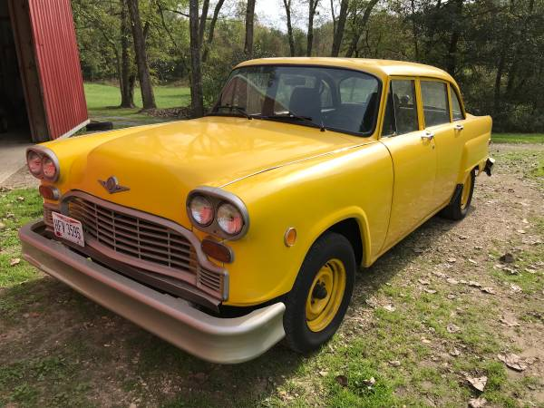1981 Checker Cab $7000.00 - Internet Checker Taxicab Archive