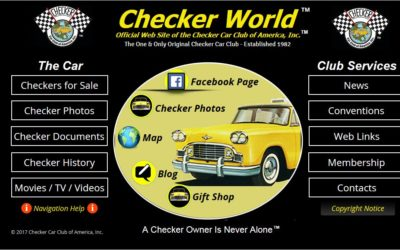 Checker Car Club of America Now Offers FREE Newsletter Content!