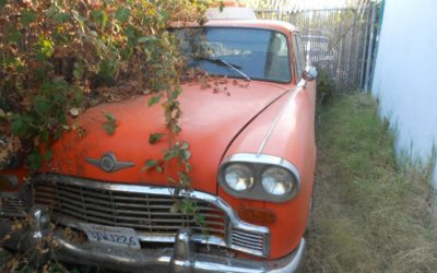 1972 Checker Marathon Taxi-Cab Complete – $4500 (Yuba City)