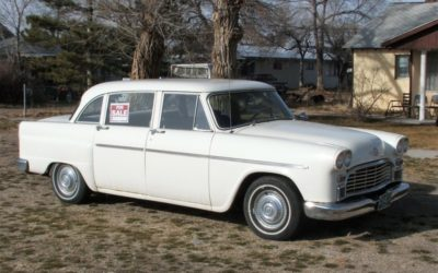 1967 Checker Marathon $4000  180,000 miles
