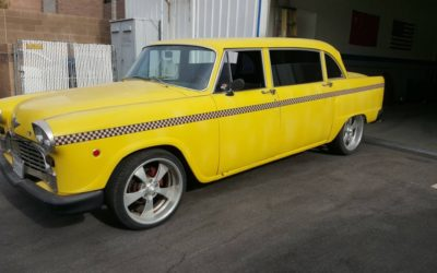 Unique Car in Vegas 69 Checker Cab possible trade – $13500 (North Las Vegas)