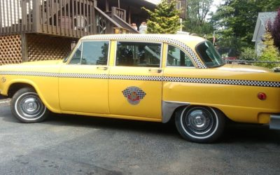 1974 Checker Taxi Alpine, New Jersey $10,000