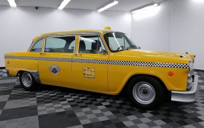 Yellow Checker Cab on EBAY  Long Wheelbase