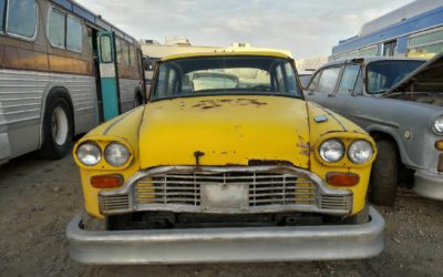 Checker A11 Taxicab For Sale