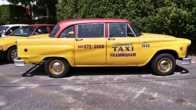 Tommy's Taxi, Framingham, A Long Time Loyal Checker Customer
