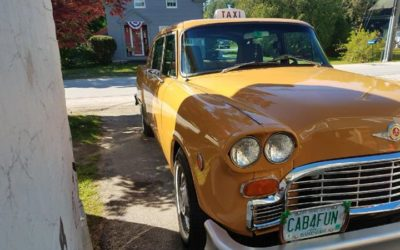 1976 Checker Taxi For Sale $14000.00 Raymond, New Hampshire