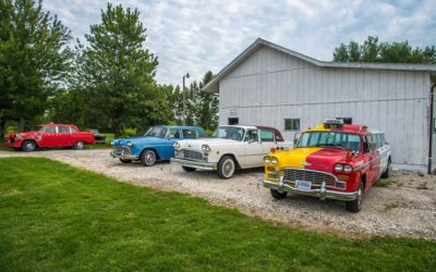 Checker Meet Up At The Giving Tree Orchards and Event Barn & Put-In -Bay