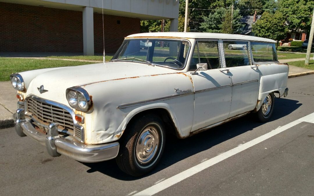 1966 Checker A12W Wagon. $2,500