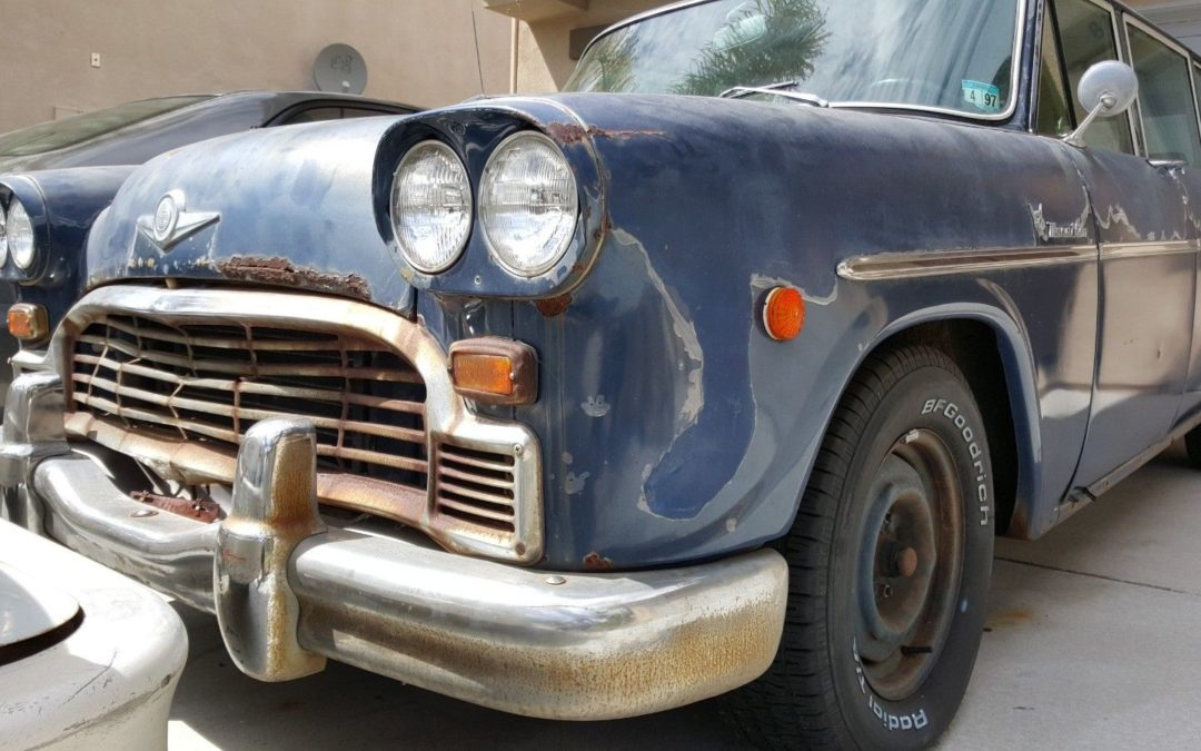 1969 Checker Marathon A12W Ebay Auction