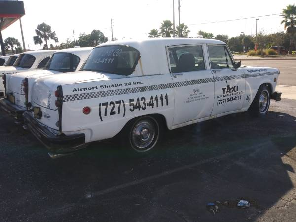 1981 Checker Marathon – $3500 (Clearwater)