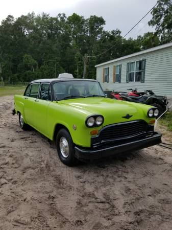 1982 Checker A11 For Sale  (Cross city fl) $3000.00