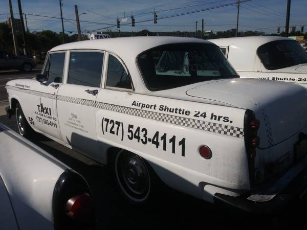 1977 Checker Marathon – $6500 (Clearwater)