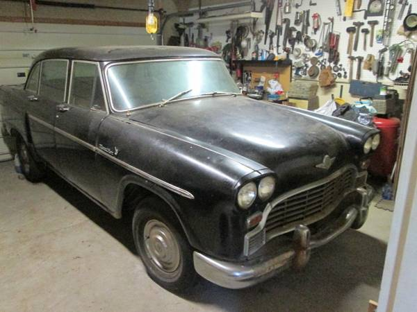 1966 Checker Marathon – $2000 (Reinholds)