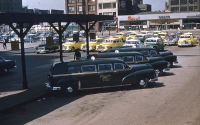 The 1950 Checker Model A5 Parmelee Six Door Wagon