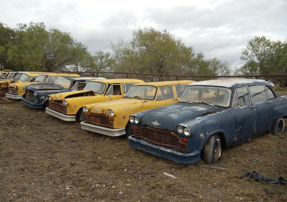 The Lost Lockhart Texas Checker Fleet of Chicago Cabs