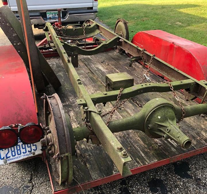 1922 Commonwealth Mogul Checker Taxicab Chassis for sale on Facebook