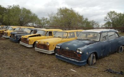 Dollie Cole Checker fleet up for sale on the weekend of March 1st