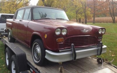 Rare Checker Diesel Prototype For Sale $2000  SOLD!!!