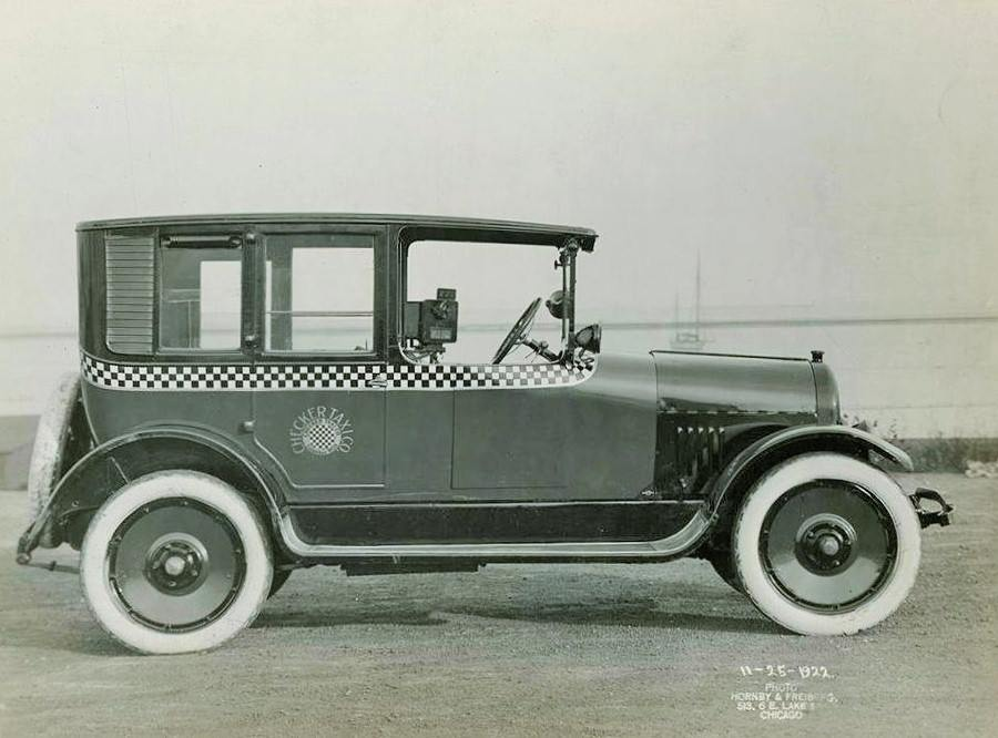 100 Years of Chicago Checker Taxi 1919-2019