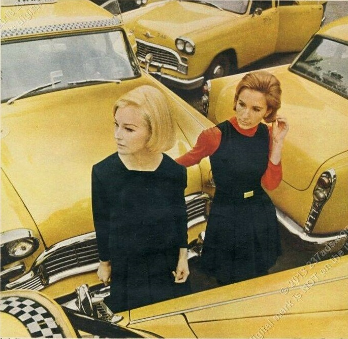 Checker Cabs and Fashion