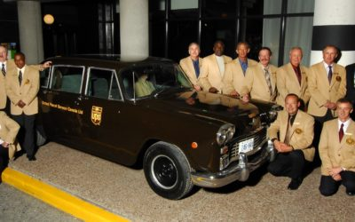 Checker Cab and the UPS Package Car