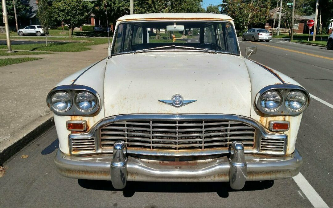 1966 Checker Wagon on Ebay