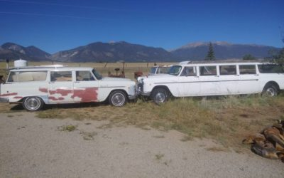 Two 1969 Checkers, one A12w8 Aerobus and one A12 Wagon