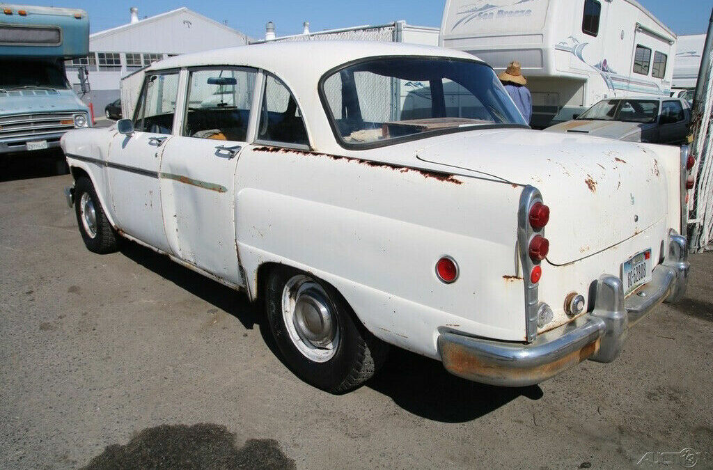 1972 Checker Orange, California