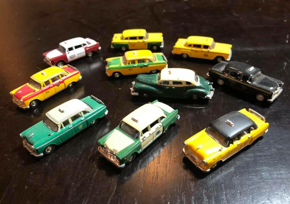 Checker Cab Models in all Scales