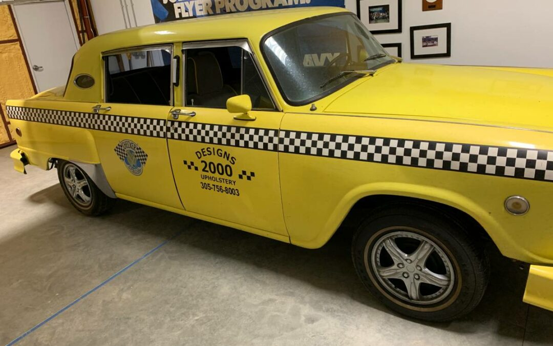 1981 Checker Hell Cab Special – $15000 (Bozeman, MT)