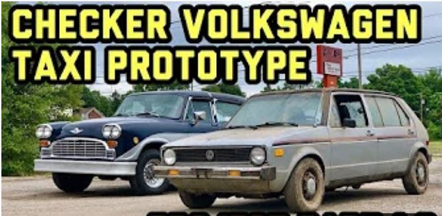 Update on the VW Checker Prototype Restoration