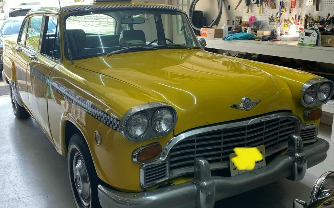 1971 Checker On Ebay