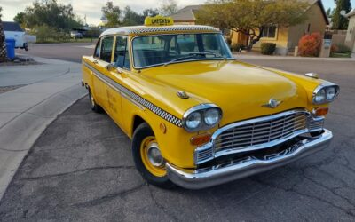 SOLD!!!!  1967 Checker Model A12 Taxicab