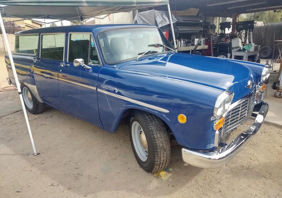 1973 Checker Marathon Hot Rod Wagon