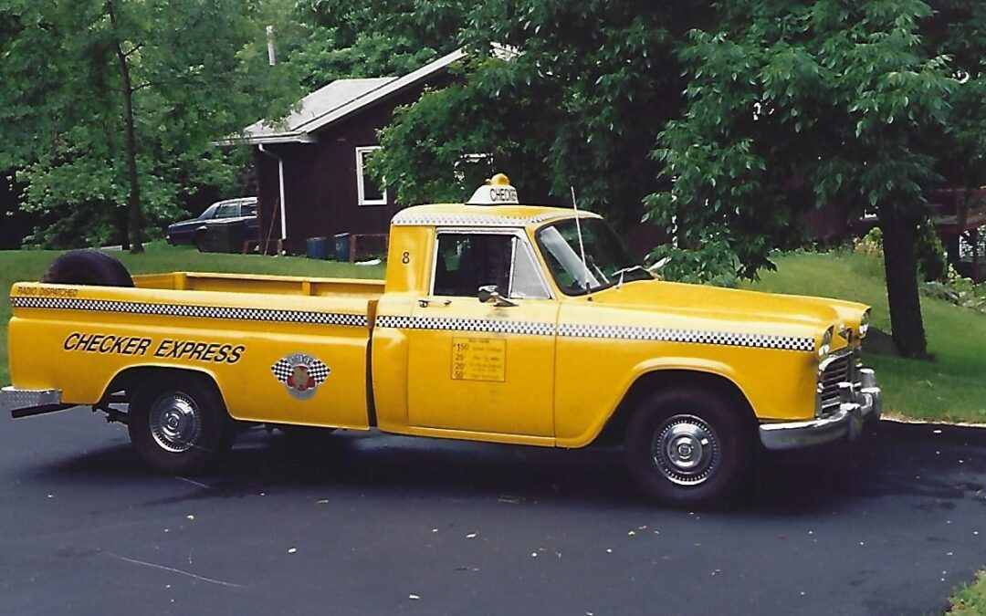 From the Notes of Don McHenry – The Checker Pickup & Medicar