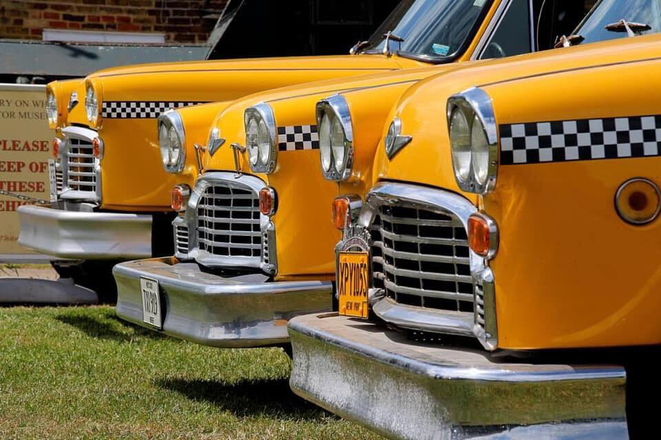 Checkers at History on Wheels Museum in the UK.