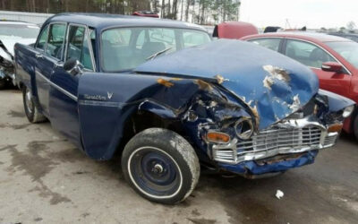 1970 Checker For Sale Wrecked,  Auction  SOLD