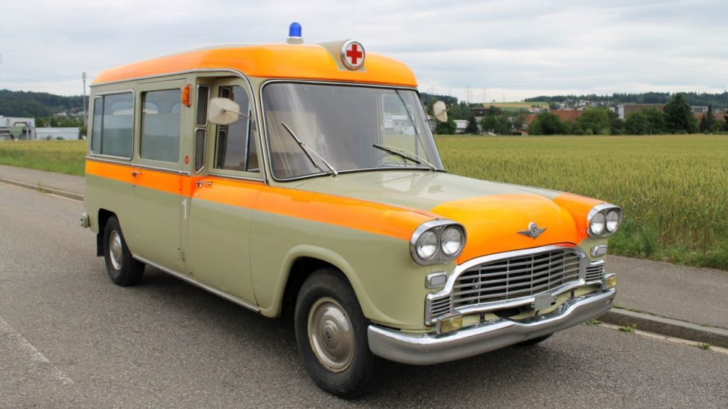 The Zurich City Checker Ambulance