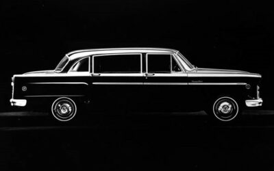 Dietrich Designed Checker Limo for Bishop Fulton Sheen Update