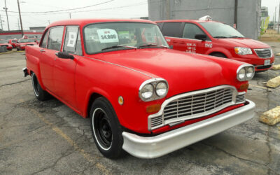 1981 Checker Model A11 for sale on EBAY Buy It Now button $3900