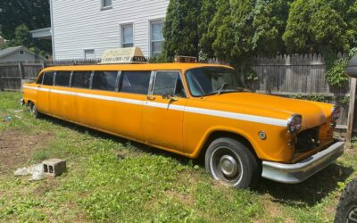 1982 **ONE OF A KIND CHECKERED CAB LIMO!!**