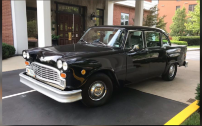 One Owner 1981 Checker For Sale